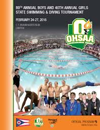 ohsaa swimming u0026 diving information