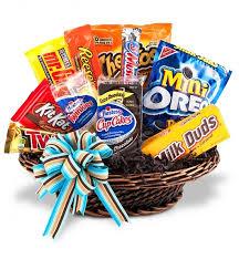 online food gifts best junk food basket fruit gift baskets a gift basket that is