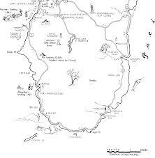 Map Of Guam Guam High Point Adventure