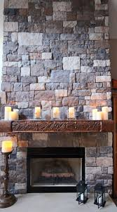 51 best cool stone fireplaces images on pinterest fireplace