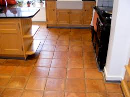 cabinet kitchen with terracotta floor tiles kitchen with