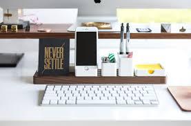 Modular Desk Components by By Ugmonk Minimal U0026 Modular Your Next Desk Organizer