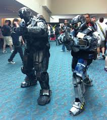 Halo Reach Halloween Costume Comic Cosplayer Profile Meet Halo Spartans Movieline
