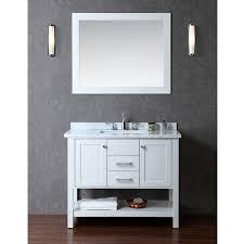 bayhill 42 inch single sink bathroom vanity set free shipping