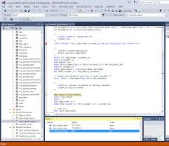 Create Temporary Table Howto Using The Mysql Debugger Inside The Visual Studio Ide The