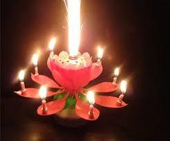 birthday cake candles sparkling birthday cake candle