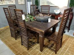 Balinese Dining Table Seams To Fit Home Consignment Furniture Designer Showroom