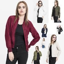 light bomber jacket womens urban classics ladies light bomber jacket ladies hebst pilot s ebay