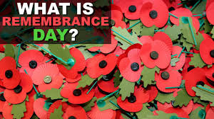 remembrance day why we wear red poppies and hold two minute