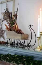 Tall Christmas Mantel Decorations by 1340 Best Burlap Christmas Images On Pinterest Christmas Ideas
