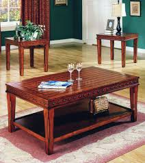 solid wood coffee table set u2013 solid wood construction reclaimed