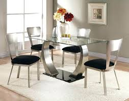 cheap glass dining room sets round glass dining table set for 4 cbat info