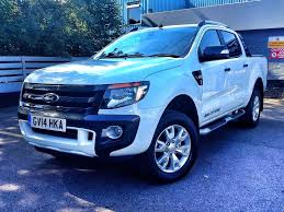 ford ranger wildtrak spec ford uk ford ranger 3 2tdci wildtrak double cab 6spd 200ps in white 2014