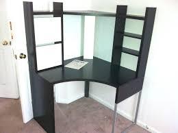 ikea black corner desk image of corner desks size ikea galant black corner desk