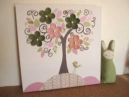 Diy Baby Nursery Decor by Unique Nursery Art Canvas Kids Room Painting Nursery Tree