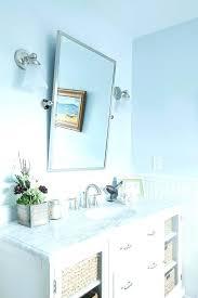 Bathroom Mirror Chrome Pivot Bathroom Mirror 72poplar