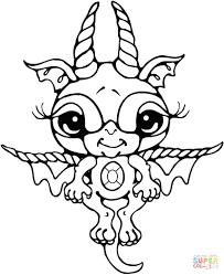 cute cartoon dragon coloring pages ball goku super saiyan 4 baby