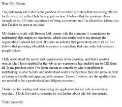 writing a good cover letter 19 example nardellidesign com