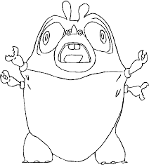 monsters aliens coloring pages kids coloring