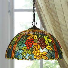 tiffany kitchen lights lustre tiffany style grape pendant l dinning light bedroom