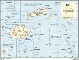 Political Map Of Canada by Full Political Map Of Fiji Fiji Full Political Map Vidiani Com