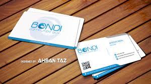 business card design u2013 ahsan taz