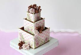 Wedding Cake Cookies How To Assemble 3 D Cookie Wedding Cake Boxes Youtube