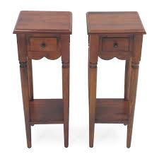 51 off butcher block end tables tables