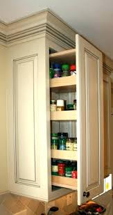 kitchen cabinet spice racks kitchen cabinet spice rack pull out slide out spice racks for
