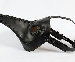 leather plague doctor mask doctor mask