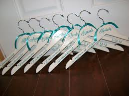 personalized wedding hangers wedding hangers personlized brides bridesmaids hangers custom