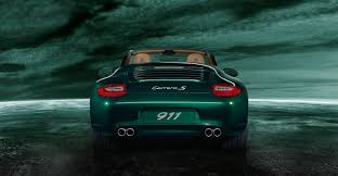 green porsche convertible 2011 green porsche 911 carrera s cabriolet wallpapers