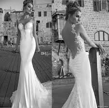 open back wedding dresses 2015 new arrival galia lahav sheer backless wedding dresses