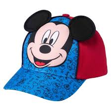 toddler boys u0027 mickey mouse baseball hat blue u0026 red target