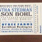 concert ticket invitation template gorgeous concert ticket party
