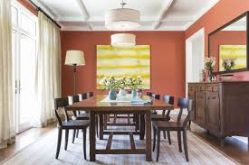 orange dining room 15 bold interior paint hues for your home curbed