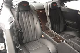 bentley interior back seat 2013 bentley continental gt v8 stock 7129 for sale near westport