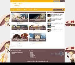 edna responsive magazine blogger template