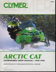 cs836 90 98 arctic cat snowmobile shop manual snowmobile parts