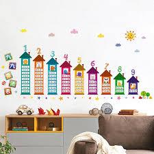 stickers chambre d enfant 2018 modèle de table de multiplication sticker d mural pour