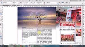 freelance layout majalah tutorial adobe indesign mencukup cukupkan teks kelapapariwara com
