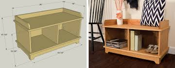Free Deacon Storage Bench Plans by Entryway Storage Bench Kreg Tool Company