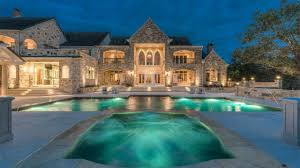 Mansion Design Luxury Limestone Mansion Inspired By A European Castle Design