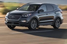 hyundai santa fea hyundai santa fe sport 2018 motor trend suv of the year contender