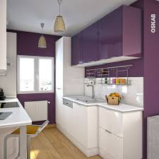 cuisine blanche mur aubergine cuisine equipee pour studio 6 cuisine aubergine mod232le
