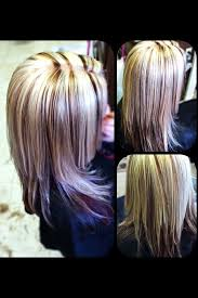 platimum hair with blond lolights platinum blonde highlights red brown hair color under neath brown
