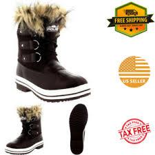 ebay womens winter boots size 9 best womens winter boots warm fur insulated waterproof