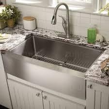 stainless farmhouse kitchen sink zuhne farmhouse apron single bowl 16 gauge stainless steel kitchen