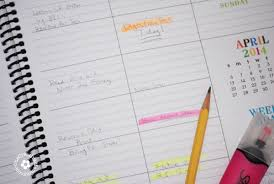 your own planner how to use a daily school planner onecreativemommy