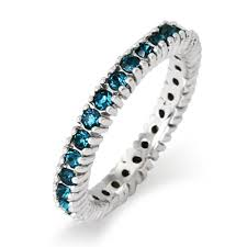 stacking birthstone rings blue zircon birthstone stackable ring s addiction